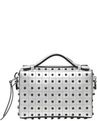 Tod's Micro Bauletto Metallic Leather Bag