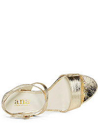 93a0870637 jcpenney Ana Ana Hollie Strappy High Heel Sandals, $19 | jcpenney ...