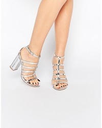 Asos Collection Hailstorm Heeled Sandals