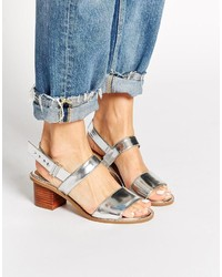 Asos Collection Humorous Wide Fit Heeled Sandals