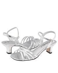 Coloriffics Deena Dress Sandals Silver Metallic