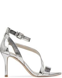 05051ac430d5 ... Silver Leather Heeled Sandals BCBGeneration Diego Mid Heel Strappy  Sandals BCBGeneration Diego Mid Heel Strappy Sandals ...