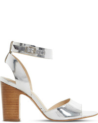 Dune Jamila Leather Heel Sandals