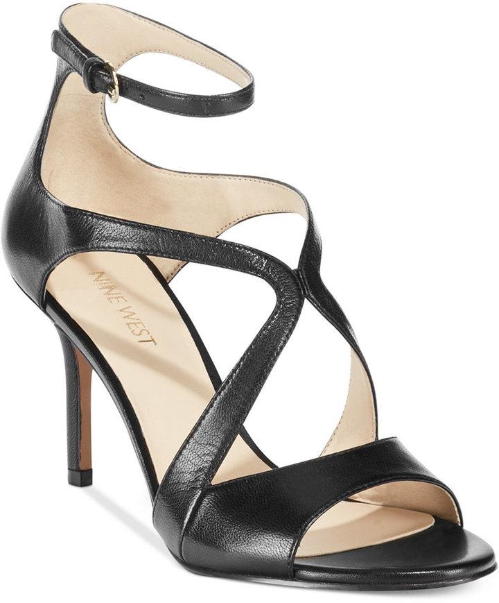 46167bfd250 Nine West Gerbera Mid Heel Dress Sandals