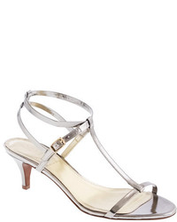 J.Crew Greta Metallic Sandals