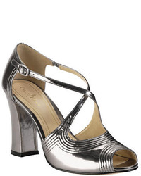 Cole Haan Jovie Metallic Leather High Heel Sandals