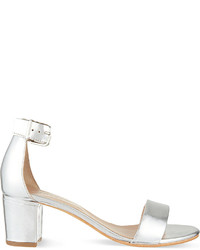 Carvela Krisp Leather Heeled Sandals
