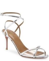 Aquazzura Leila Leather Sandals