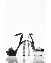 eb0bce24c49 ... Gucci Leila Metallic Platform Sandal
