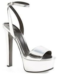 Gucci Leila Metallic Platform Sandal