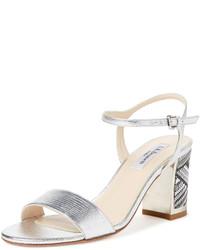 LK Bennett Mila Woven Heel Sandal