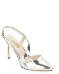 Louise et Cie Johanna Leather Sandal Heels