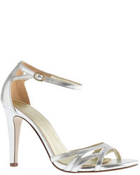 J.Crew Metallic Leather High Heel Sandals