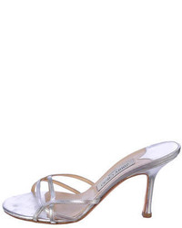Jimmy Choo Metallic Sandals