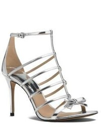 Michael Kors Blythe Metallic Leather Sandal