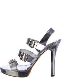 Michael Kors Michl Kors Metallic Sandals