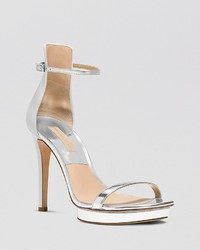 Michael Kors Michl Kors Platform Evening Sandals Doris High Heel