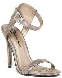 Michael Antonio Michl Antonio Jarrod Metallic Sandal Heel