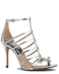 Michael Kors Michl Kors Blythe Metallic Leather Sandal