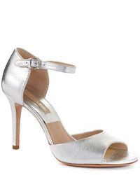 Michael Kors Michl Kors Malia Metallic Leather Sandals