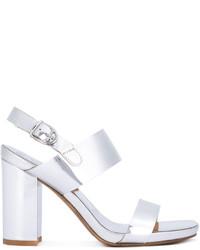 Buttero Mid Block Heel Sandals