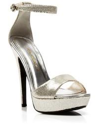 Caparros Open Toe Platform Evening Sandals Tasha High Heel