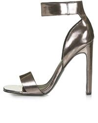 PeepToe Rare Metal Toe Sandals