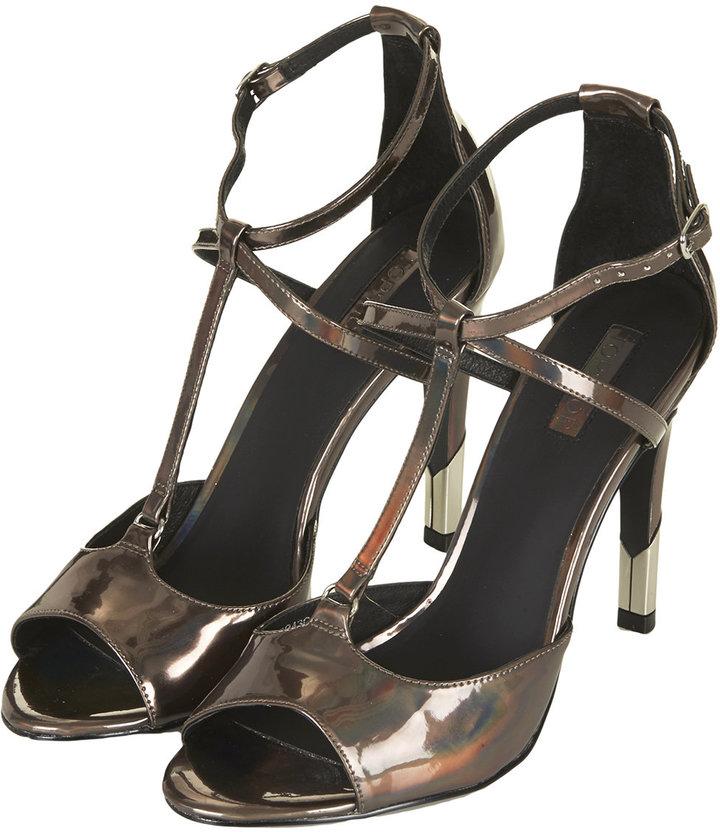 6cb137f44cda Topshop Regal Strappy High Heel Sandals
