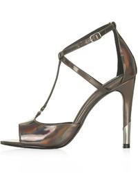 Topshop Regal Strappy High Heel Sandals