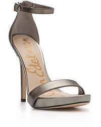 Sam Edelman Eleanor High Heel Leather Sandals
