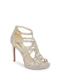 3404624c11fc Women s Silver Leather Heeled Sandals by MICHAEL Michael Kors ...