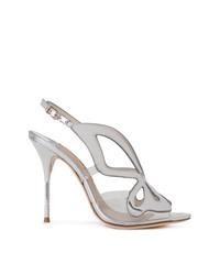 Sophia Webster Sling Back Metallic Sandals