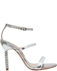 Sophia Webster 100mm Rosalind Metallic Leather Sandals