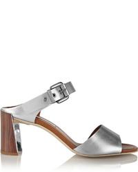 Stella McCartney Metallic Faux Leather Sandals