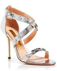 Rupert Sanderson Strappy Sandals Tiffany Bottlecap High Heel