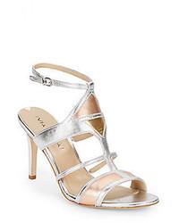 Via Spiga Vamerie Metallic Leather Sandals