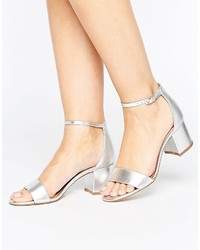 Aldo Villarosa Leather Block Heel Sandals