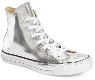 f14b2fb1b1c ... Converse Chuck Taylor All Star Metallic High Top Sneaker ...