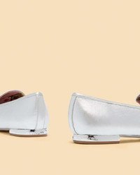 Ted Baker Metallic Bar Detail Loafers