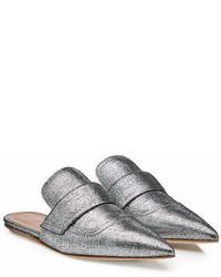 Marni Sabot Metallic Loafers