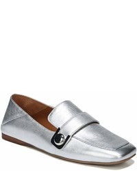 Franco Sarto Sarto By Valeres Leather Hardware Detail Loafers