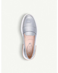 Tod's Tods Gomma Leather Loafers