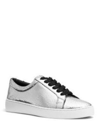 Michael Kors Michl Kors Valin Metallic Leather Sneaker