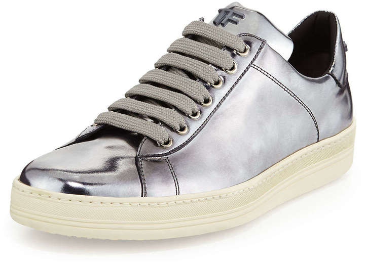 tom ford mirrored leather low top sneaker | where to buy & how to wear