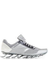 Rick Owens Adidas X Metallic Sneakers