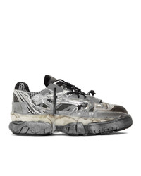 Maison Margiela Silver Fusion Sneakers