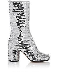 Maison Margiela Paillette Embellished Mid Calf Boots