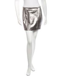 Diane von Furstenberg Leather Skirt W Tags