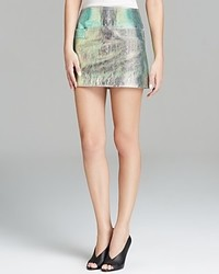 Marc by Marc Jacobs Skirt Metallic Leather