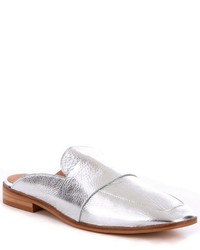 Free People At Ease Metallic Leather Dress Mules